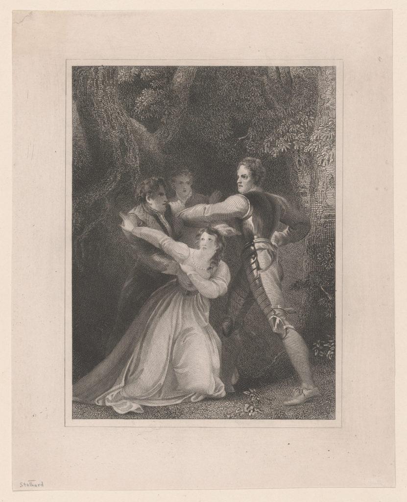 Two Gentlemen of Verona (Shakespeare, Act V, Scene IV)