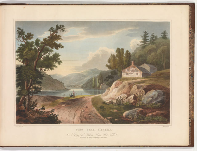 View Near Fishkill (No. 17 of The Hudson River Portfolio)