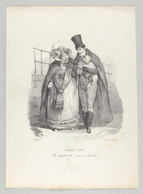 Chap. XVI: La simpiternelle serait ma bisaïeule (This woman could be my great-grandmother)