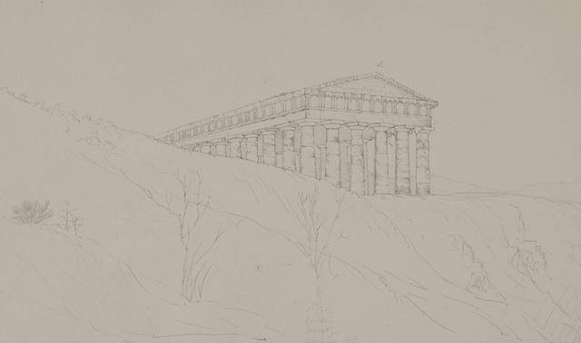Temple of Segestum, Sicily, June 24, 1824