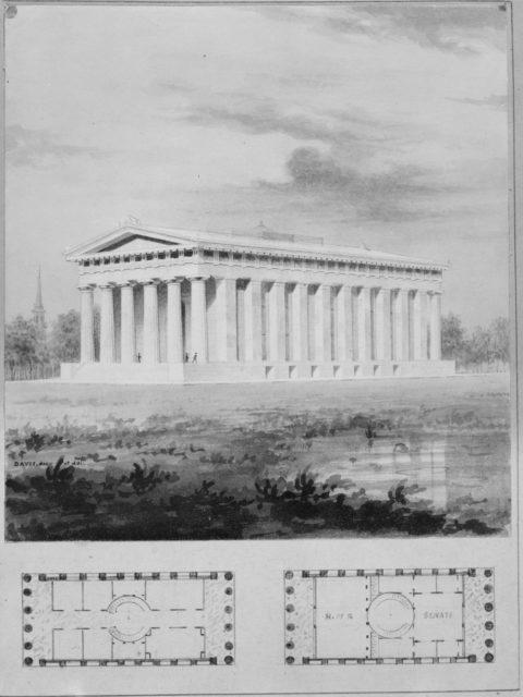 """A. J. Davis, Scrapbook II [Folio P or """"Blue Book""""]"""