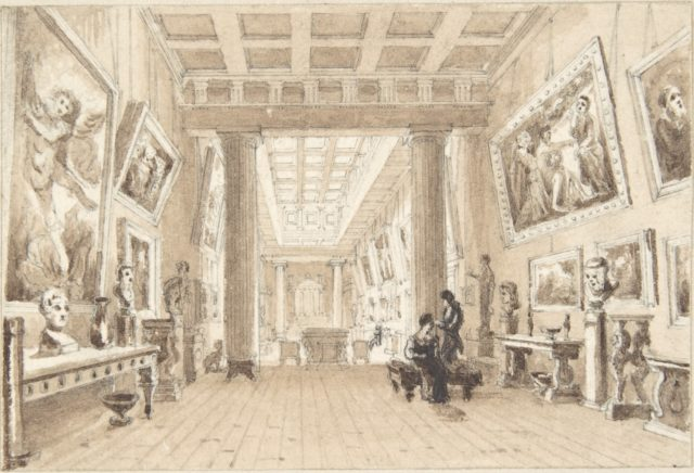 Interior of Thomas Hope's Picture Gallery, Duchess Street, London