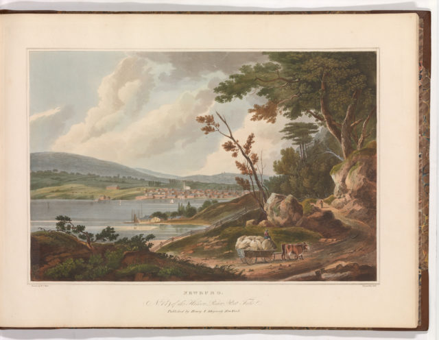 Newburg [Newburgh] (No. 14 of The Hudson River Portfolio)
