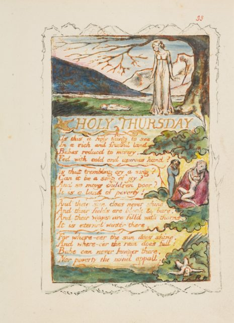 Songs of Innocence and of Experience: Holy Thursday