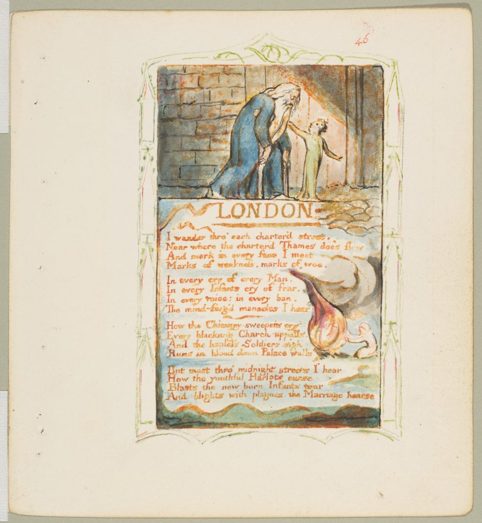Songs of Innocence and of Experience: London
