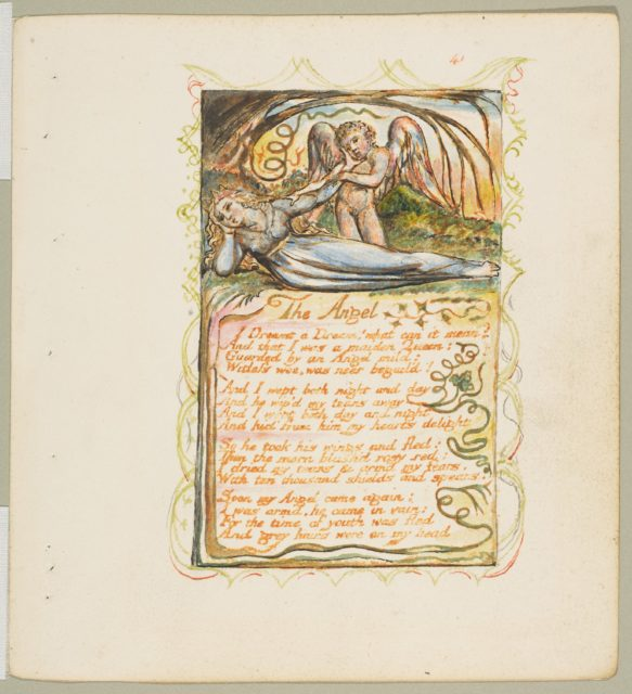 Songs of Innocence and of Experience: The Angel