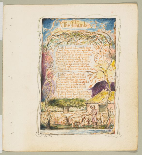 Songs of Innocence and of Experience: The Lamb
