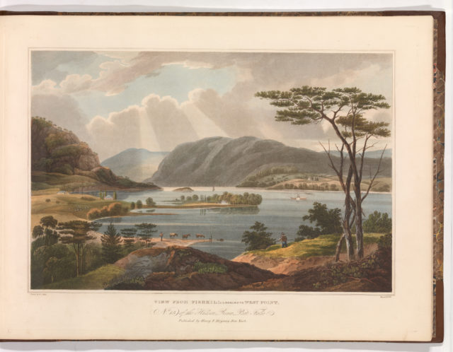 View from Fishkill Looking To West-Point (No. 15 of The Hudson River Portfolio)