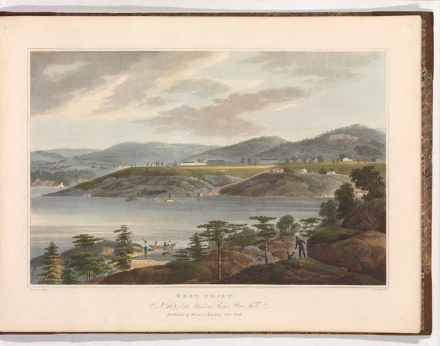 West Point (No. 16 of The Hudson River Portfolio)