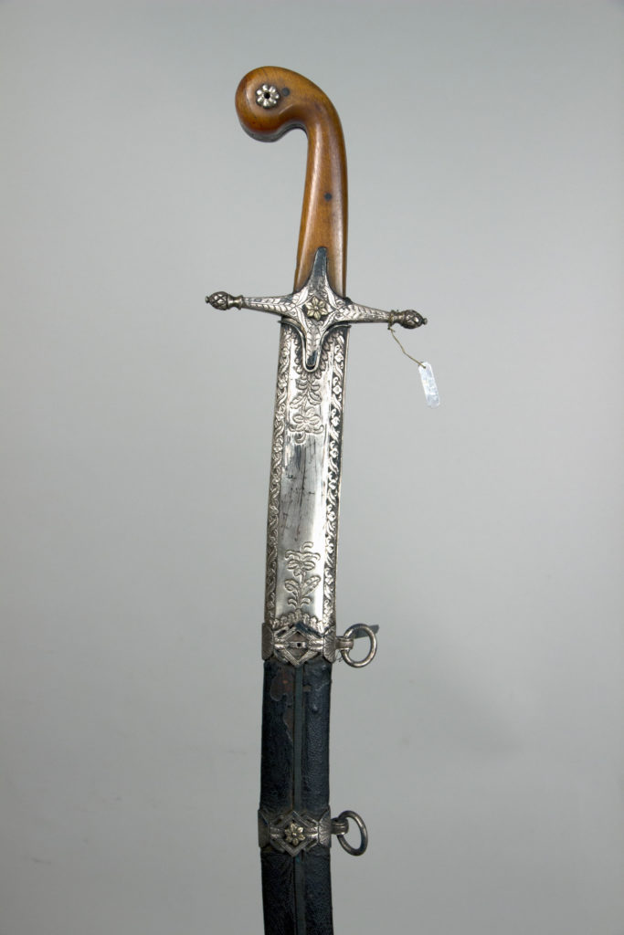 Sword (Kilij) and Scabbard with Baldric