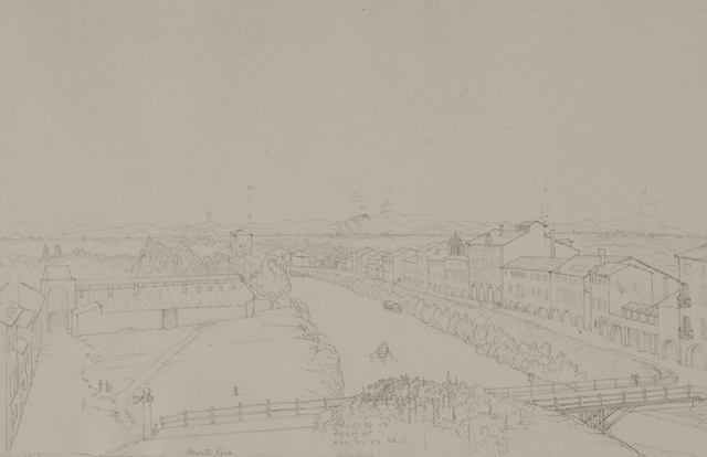 Padua with the Euganean Hills, from the Roof of the Obervatory, Looking Nearly W