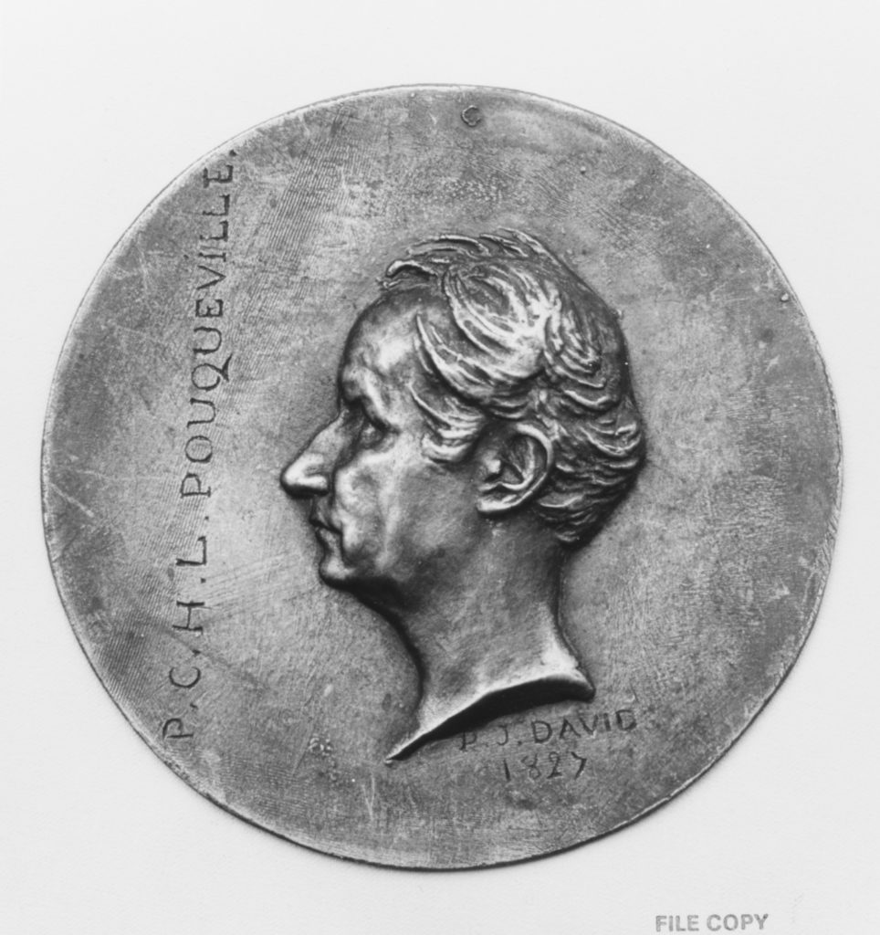 François Charles Hugues Laurent Pouqueville (1770–1838), French traveler in the Orient and man-of-letters
