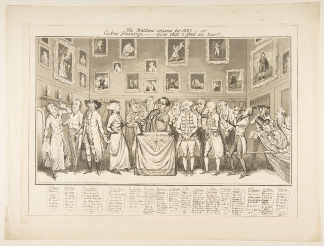 The Matthew-orama for 1827–or Cockney Gleanings,–Aint that a good un now?