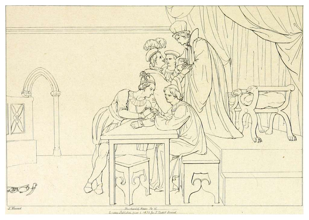 HOWARD(1828-33) Shakspeare, The Merchant of Venice, vol2, p063