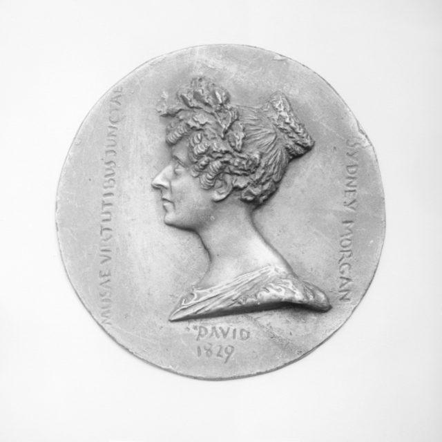 Sydney Lady Morgan (née Owenson), Irish novelist (1777–1859)