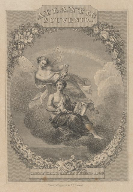 Title Page: Atlantic Souvenir, 1829