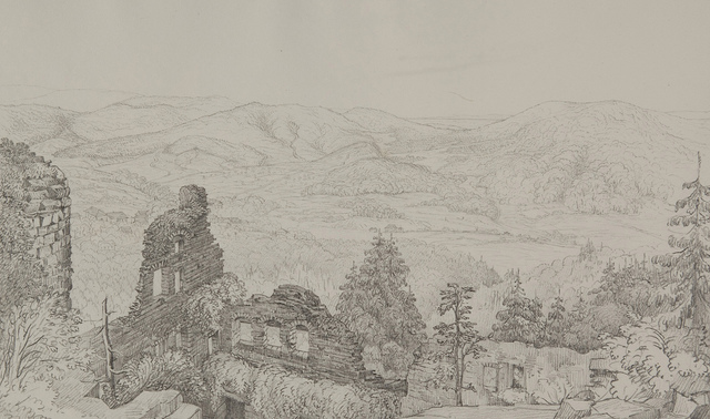 The Old Schloss Baden Baden, July 2, 1829