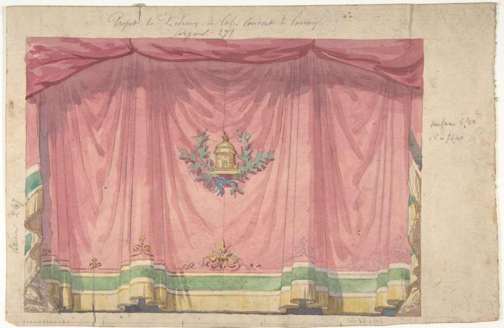 Design for a Stage Curtain