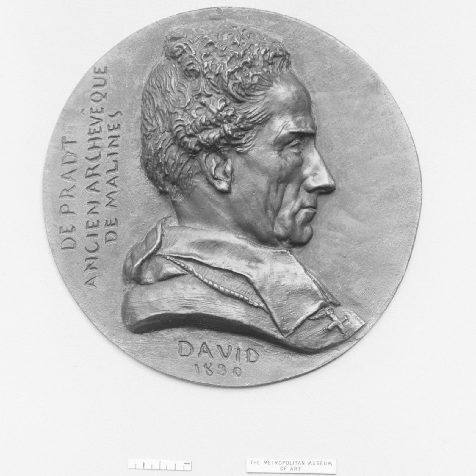 """Dominique Dufour, Baron de Pradt (1759–1837), French ecclesiastic and politician, commonly known as the """"Abbé de Pradt,"""" though at one time nominated by Bonaparte, for political services, Archbishop of Malines"""