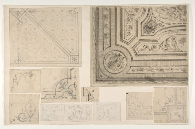 Eleven designs for the decoration of interiors