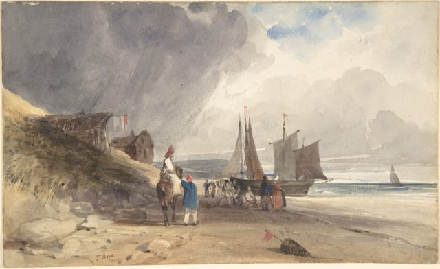 Figures on a Beach, Northern France