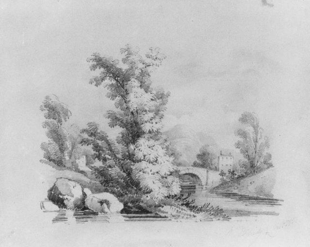 Landscape (from McGuire Scrapbook)