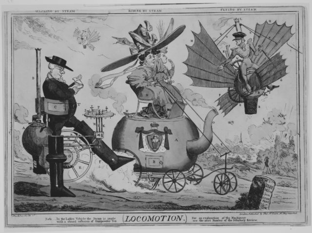 Locomotion: Walking by Steam, Riding by Steam, Flying by Steam