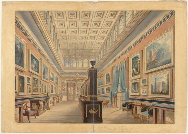 The Flemish Picture Gallery, the Mansion of Thomas Hope, Duchess Street, Portland Place