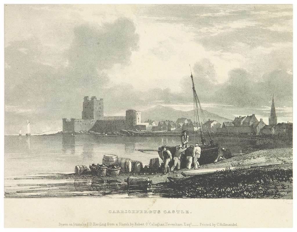 NEWENHAM(1830) p 043 CARRICKFERGUS CASTLE
