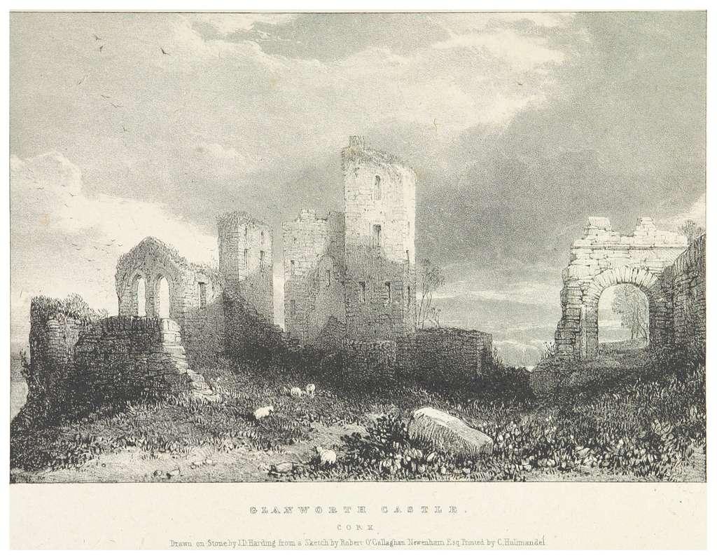 NEWENHAM(1830) p077 CORK - GLANWORTH CASTLE