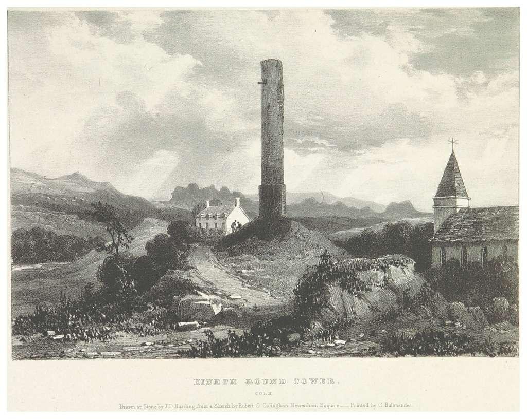 NEWENHAM(1830) p081 CORK - KINETH ROUND TOWER