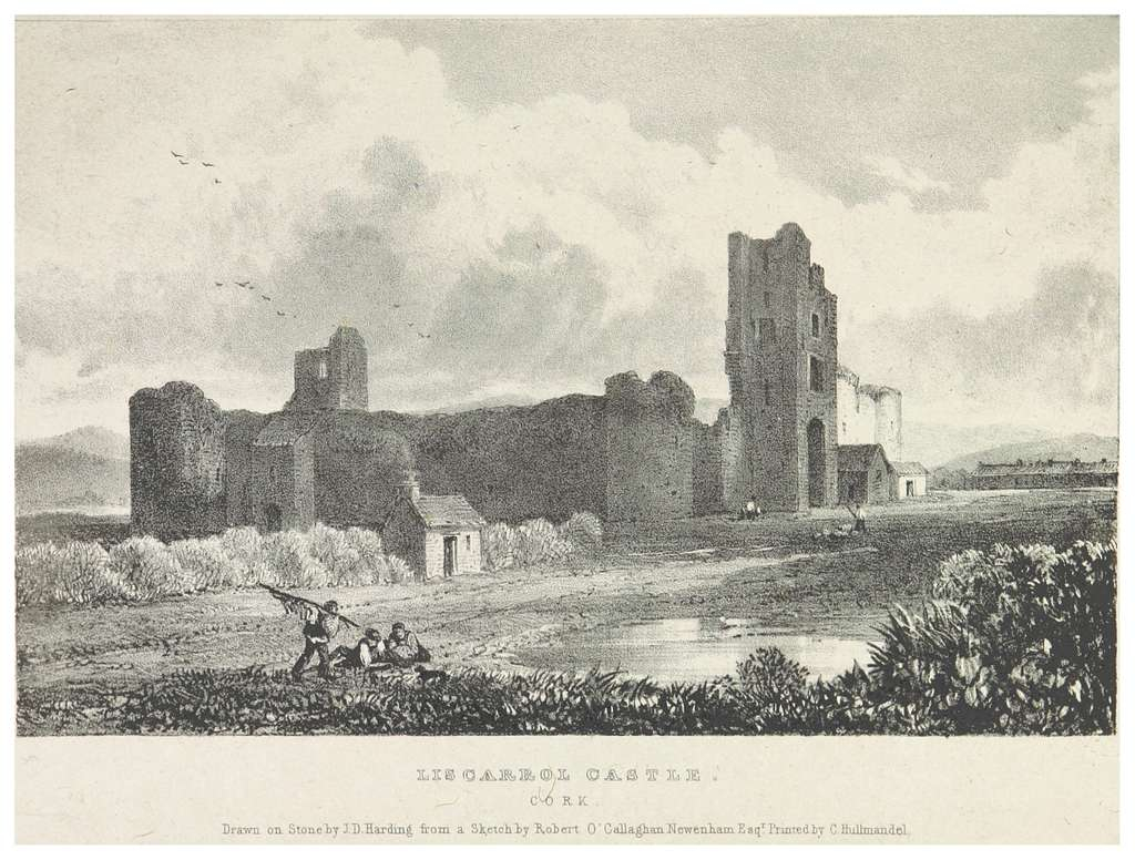 NEWENHAM(1830) p089 CORK - LISCAROL CASTLE