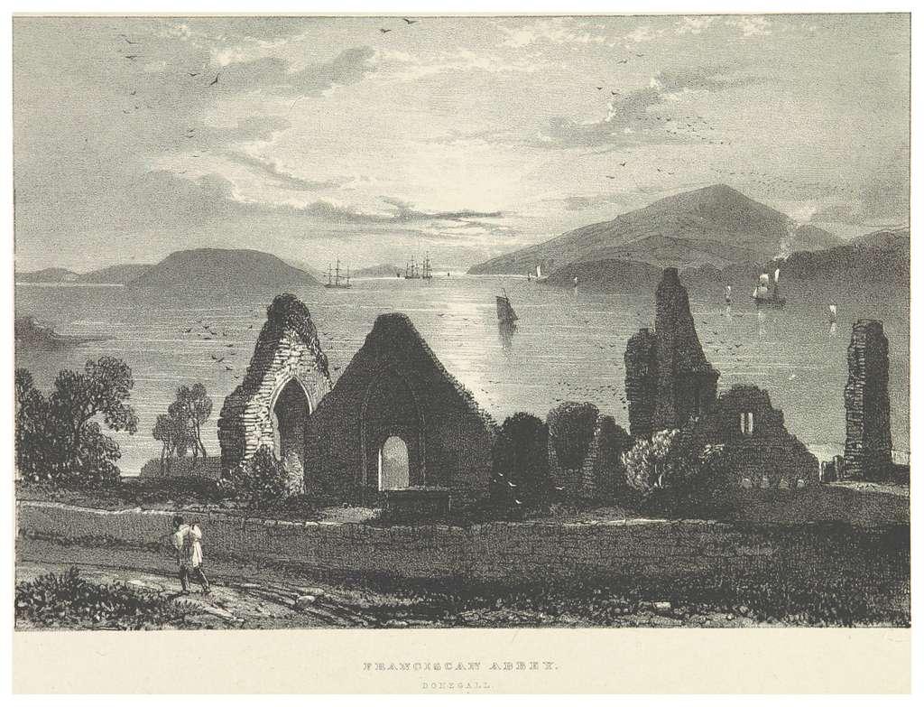 NEWENHAM(1830) p097 DONEGAL - FANCISCAN ABBEY