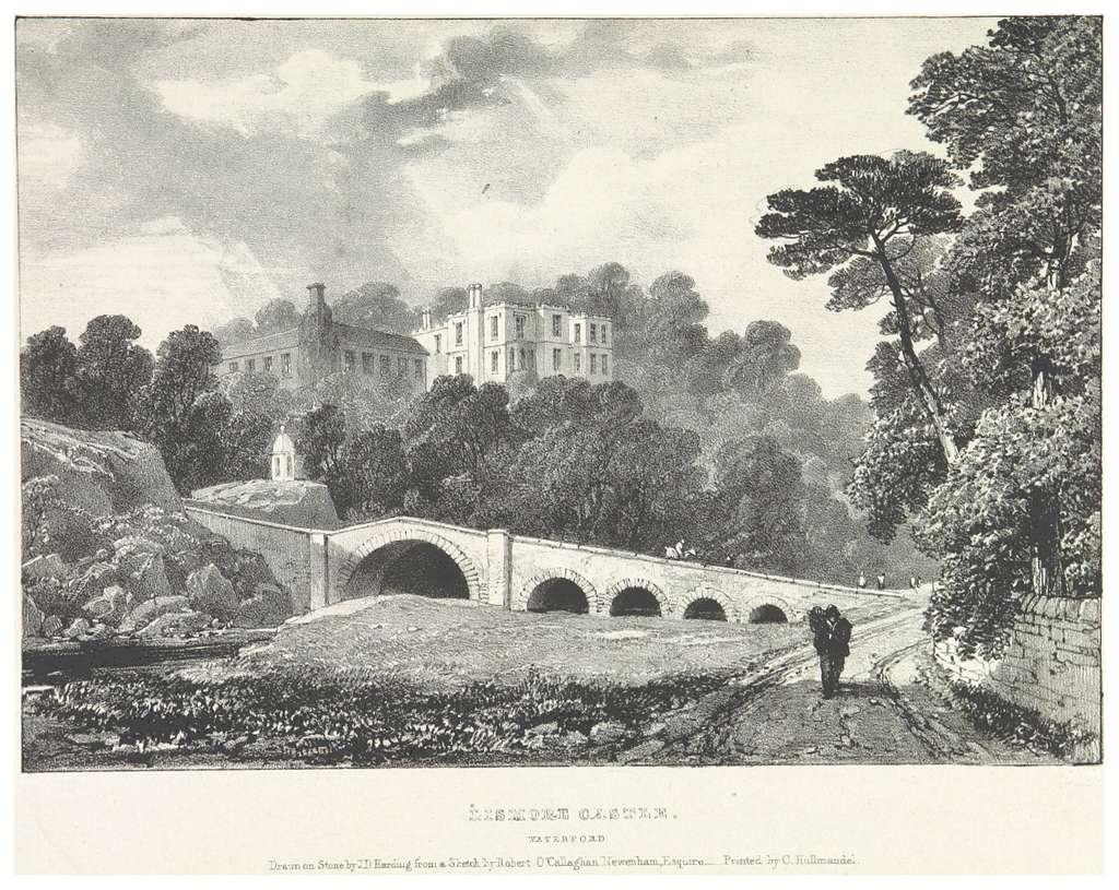 NEWENHAM(1830) p239 WATERFORD - LISMORE CASTLE