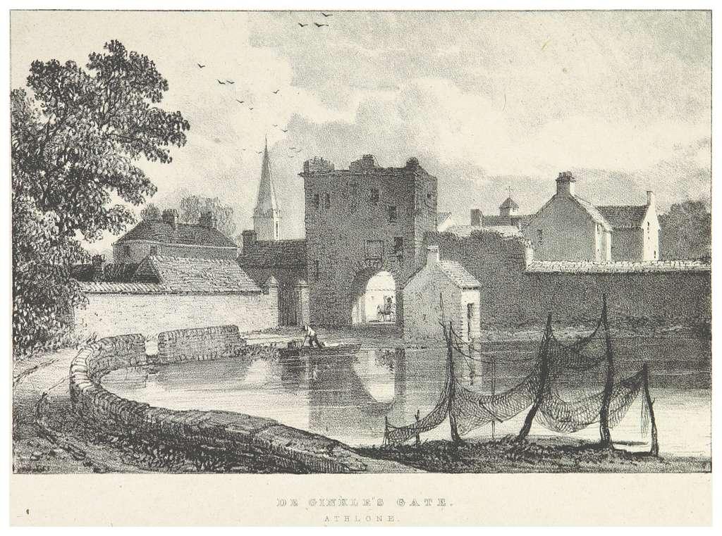 NEWENHAM(1830) p243 ATHLONE - DE GINKLE'S GATE