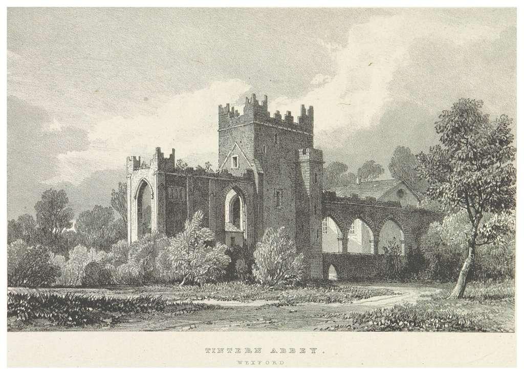 NEWENHAM(1830) p259 WEXFORD - TINTERN ABBEY