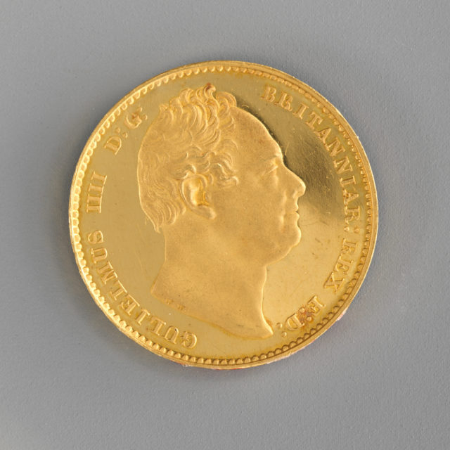 Proof sovereign of William IV