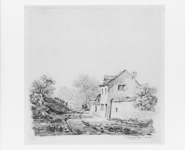 Village Landscape (from McGuire Scrapbook)