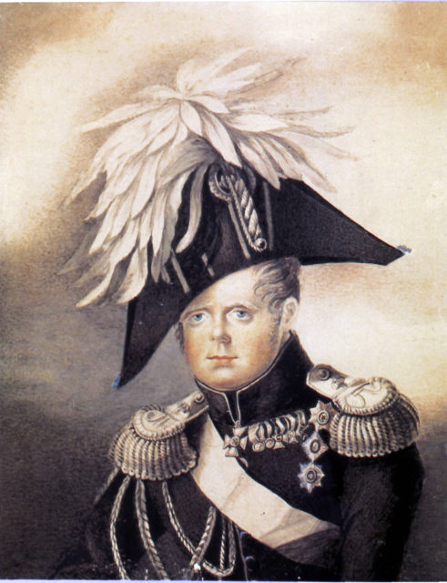 Constantin Pavlovich - grand duke of Russia