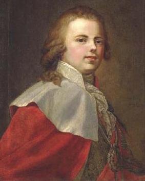 Constantin Pavlovich - grand duke of Russia. Portrait.