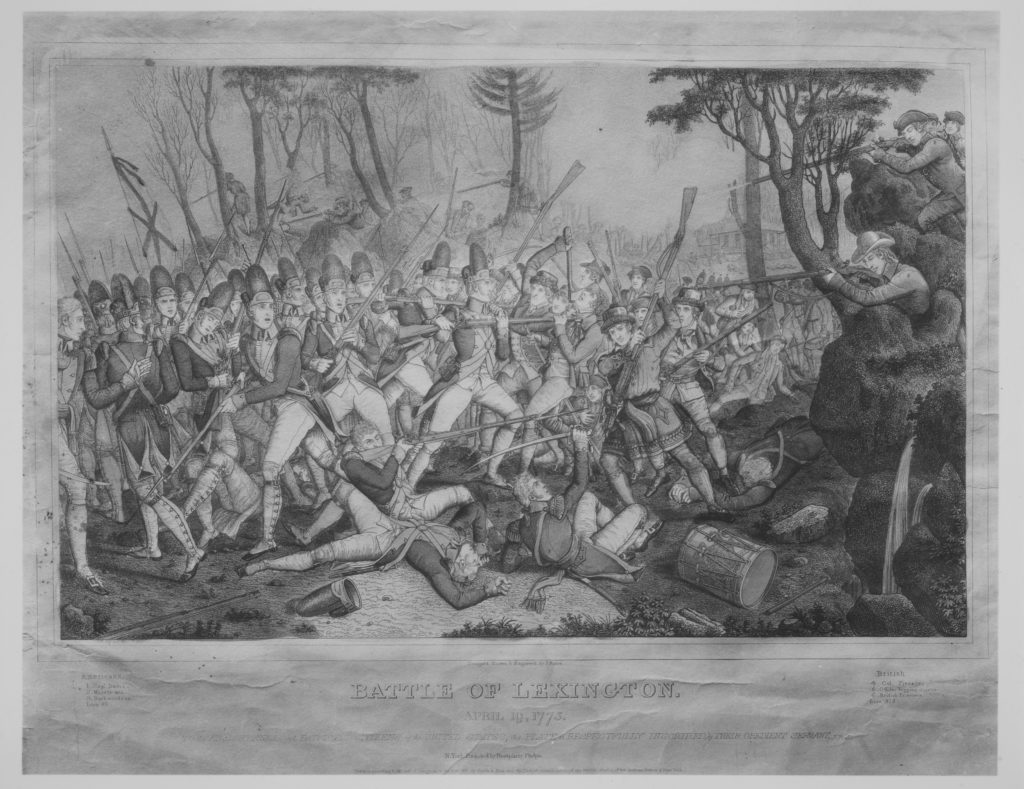Battle of Lexington, April 19, 1775