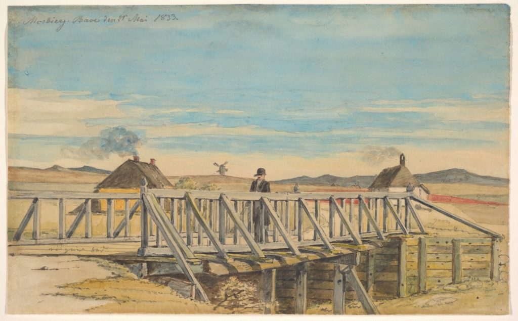 Landscape with a Bridge Near Mosbjerg