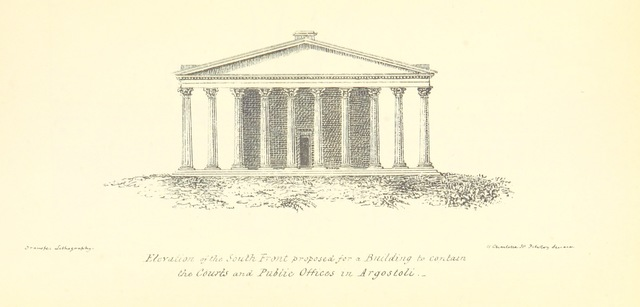 "architecture from ""The Colonies: treating of their value generally-of the Ionian Islands in particular ... Strictures on the administration of Sir F. Adam"""