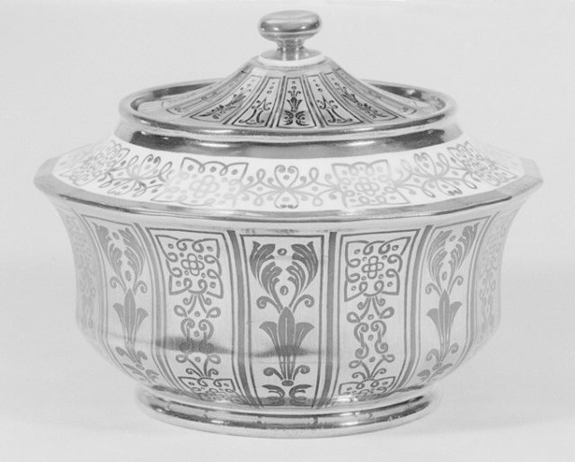 Sugar bowl (part of a coffee and tea service)