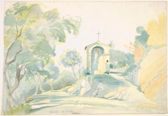 A Roadside Chapel near Tivoli