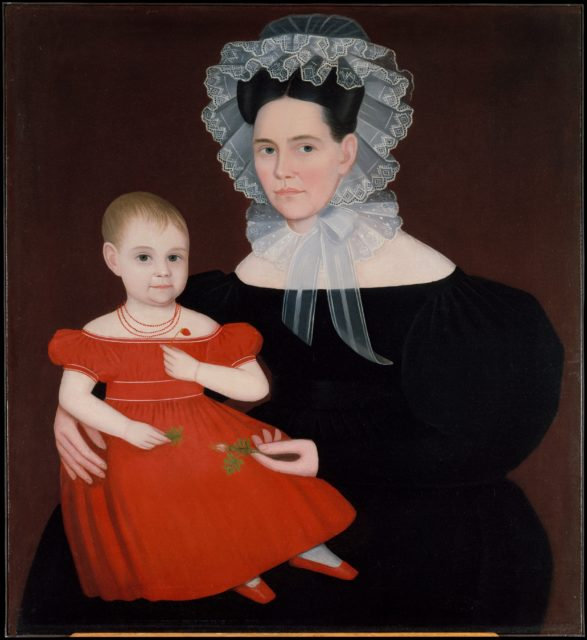 Mrs. Mayer and Daughter