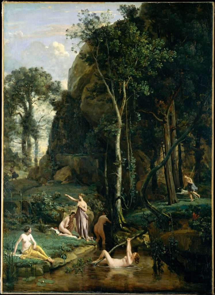Diana and Actaeon (Diana Surprised in Her Bath)