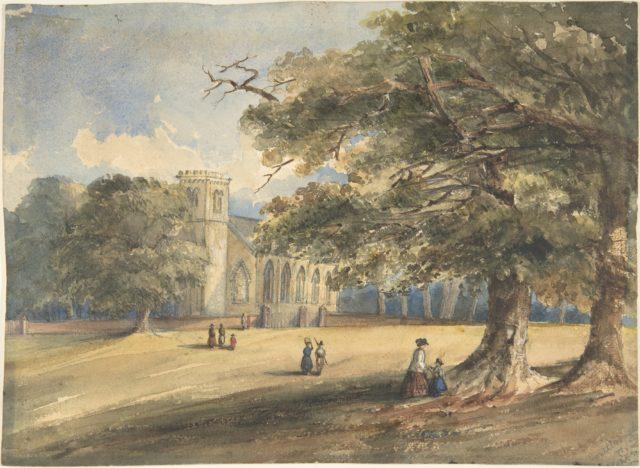 View of a Churchyard, Southborough, Kent