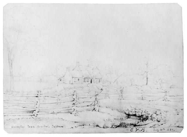 Washington's Headquarters—Tappan (from McGuire Scrapbook)