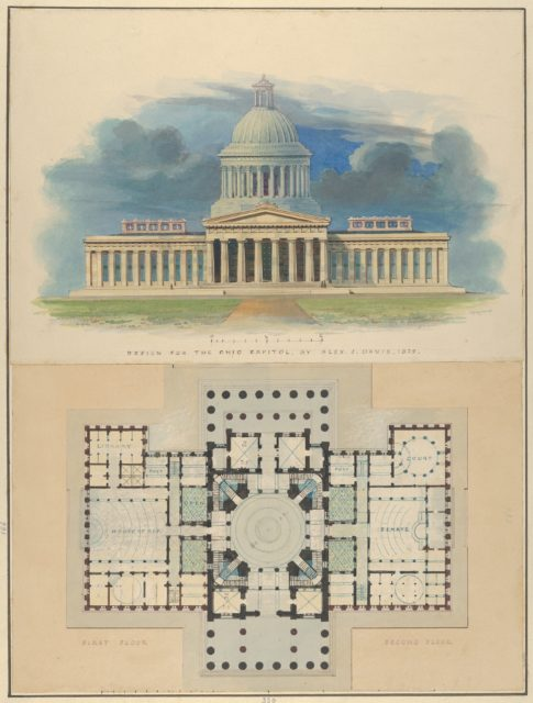Design for the Capitol of Ohio, Columbus